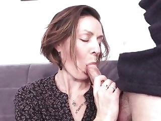 French milf hard fuck - anal, too mature